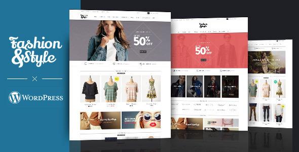 Fashion - Woocommerce wordpress theme prveiw