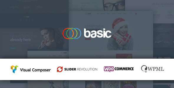 Basic Multipurpose WooCommerce Theme