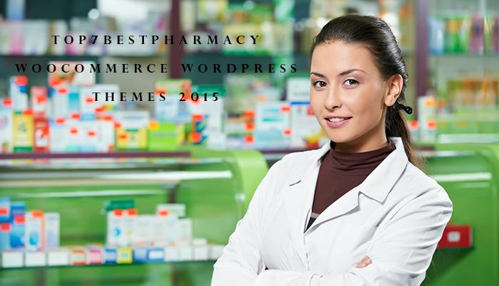 top 7 best pharmacy woocomerce wordpress themes 2015