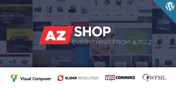 Azshop - Woocommerce WordPress Theme Released