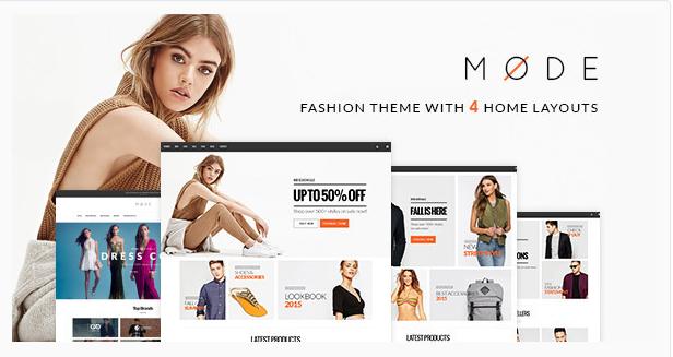 Mode - Modern Fashion WooCommerce Word