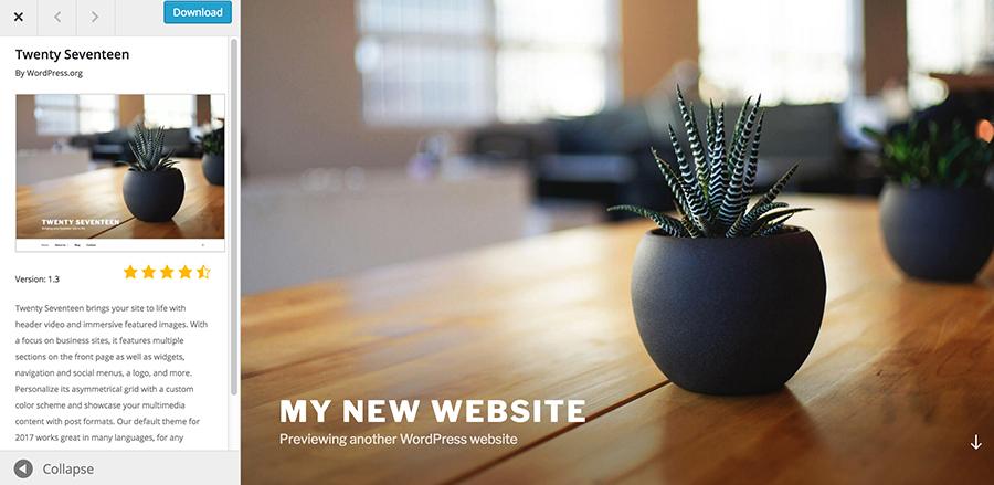 Basic-WordPress-Website