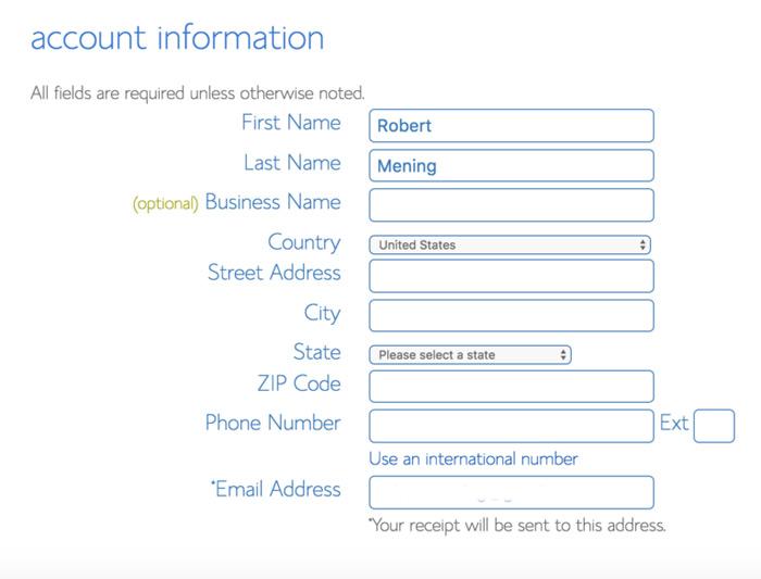 account-information