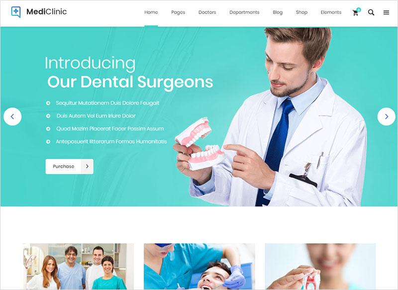 mediclinic - health & medicine wordpress theme