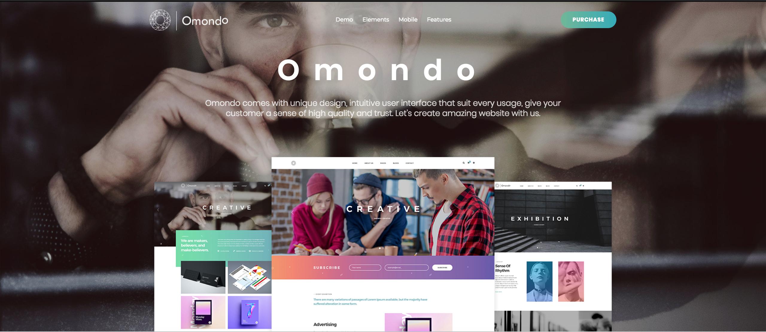 Omondo - Creative Agency Business WordPress Theme