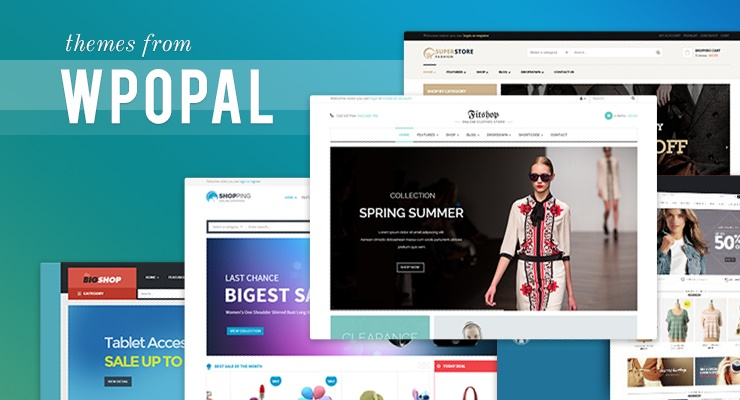 Review 5 online-shopping wordpress themes from Opal