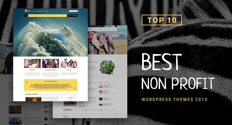 top 10 best nonprofit wordpress themes 2015