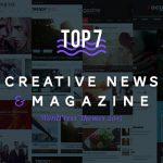 Top 7 Creative News& Magazine WordPress Themes 2015