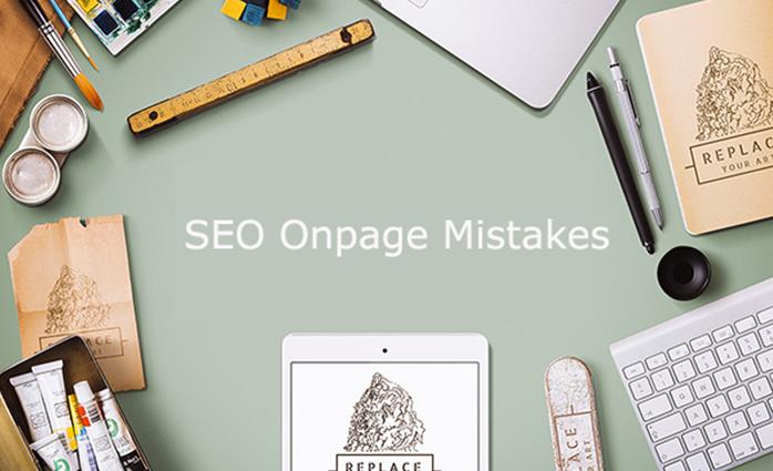seo-onpage mistakes