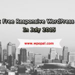 10 Best Free Responsive WordPress Themes in July 2015