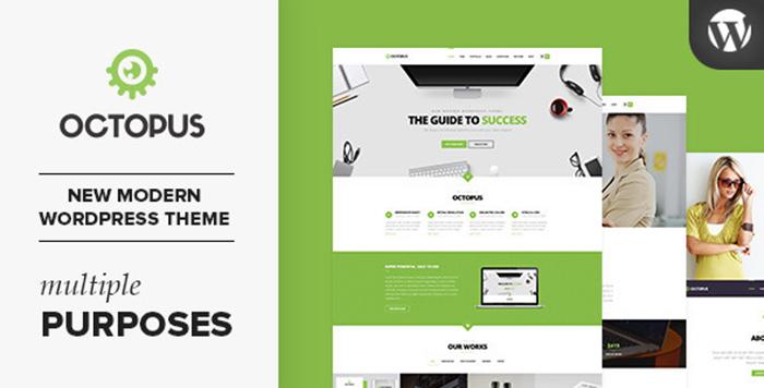 Review Octopus - Multipurpose Business WordPress Theme