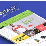 Golmart – Creative WooCommerce WordPress Theme Released