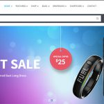 Shopping WooCommerce Responsive WordPress Theme in Preview