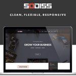 Review Sodiss - Modern Corporate WordPress Theme
