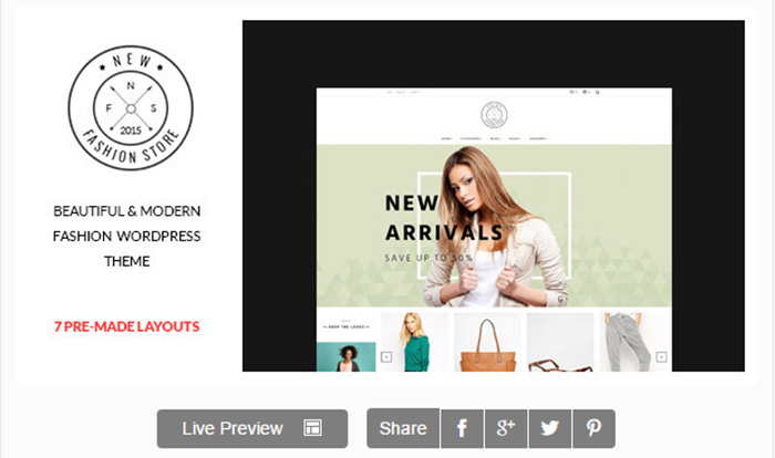 Newfashion - Modern WooCommerce WordPress Theme