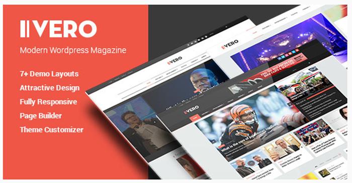 Review Vero – Responsive Blog & Magazine WordPress Theme