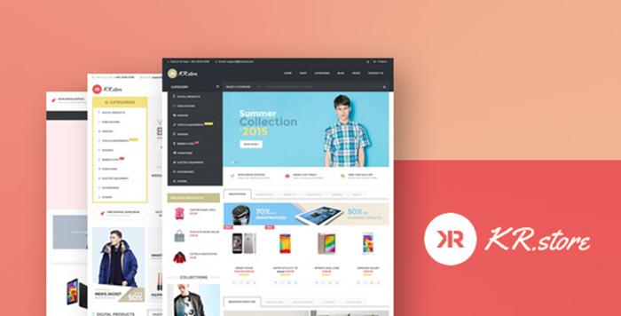 Welcome Krstore WooCommerce Responsive WordPress Theme