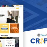 cropshop fashion woocommerce wordPress Theme