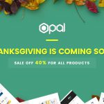 Sale off 40% for Thanksgiving