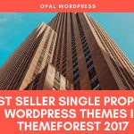 best seller single-property wordpress themes