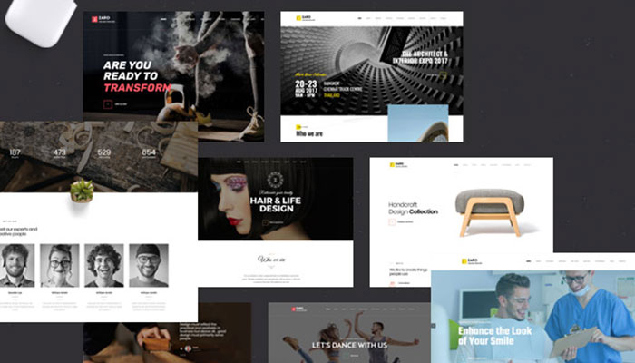 Zaro - Creative Multipurpose Onepage WordPress Theme