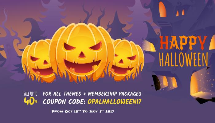 Halloween - WPOpal Sale off 40%