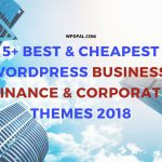 5+ Best & Cheapest WordPress Business, Finance & Corporate Themes 2018_ Wpopal