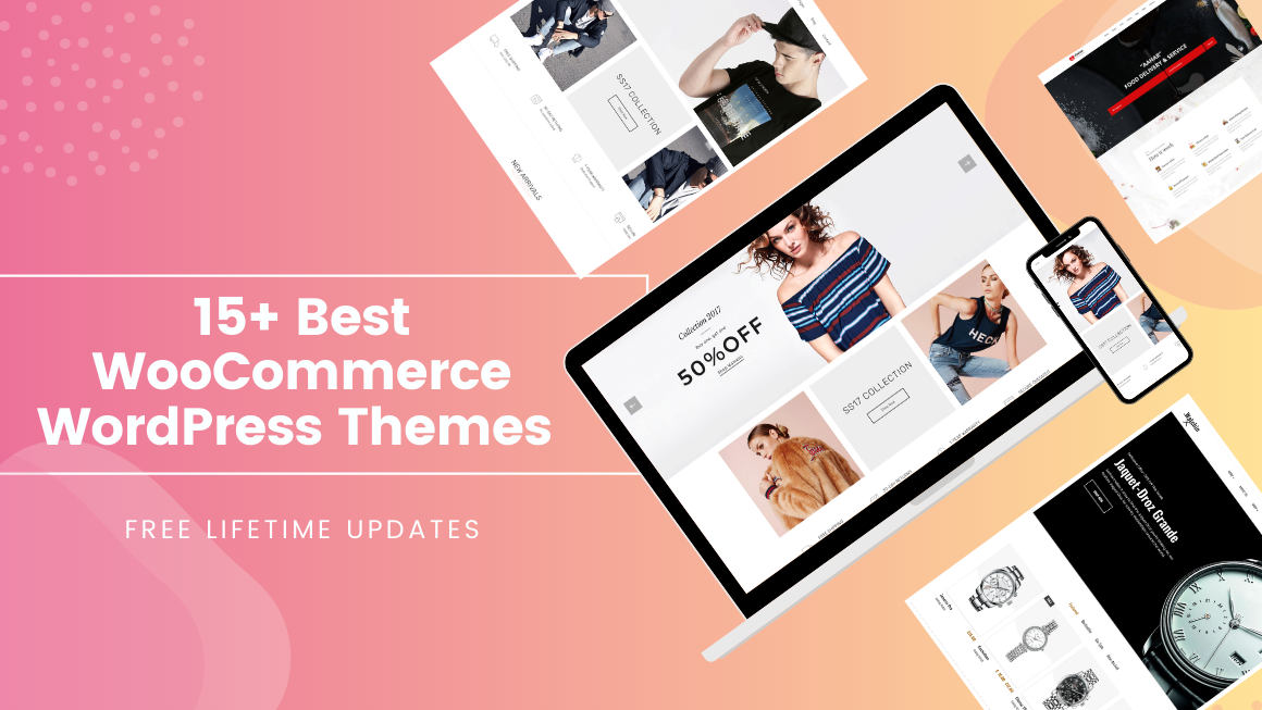 15+ Best WooCommerce WordPress Templates