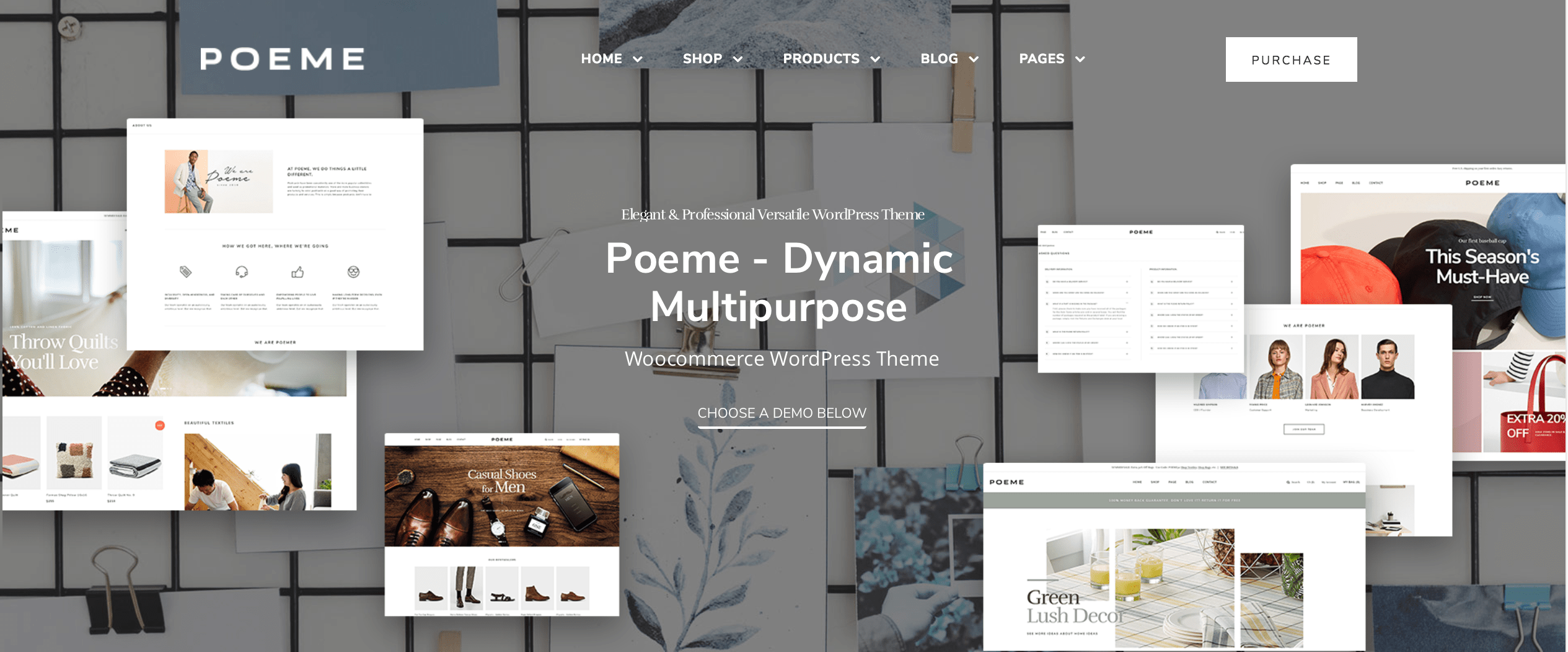poeme multipurpose wordpress theme