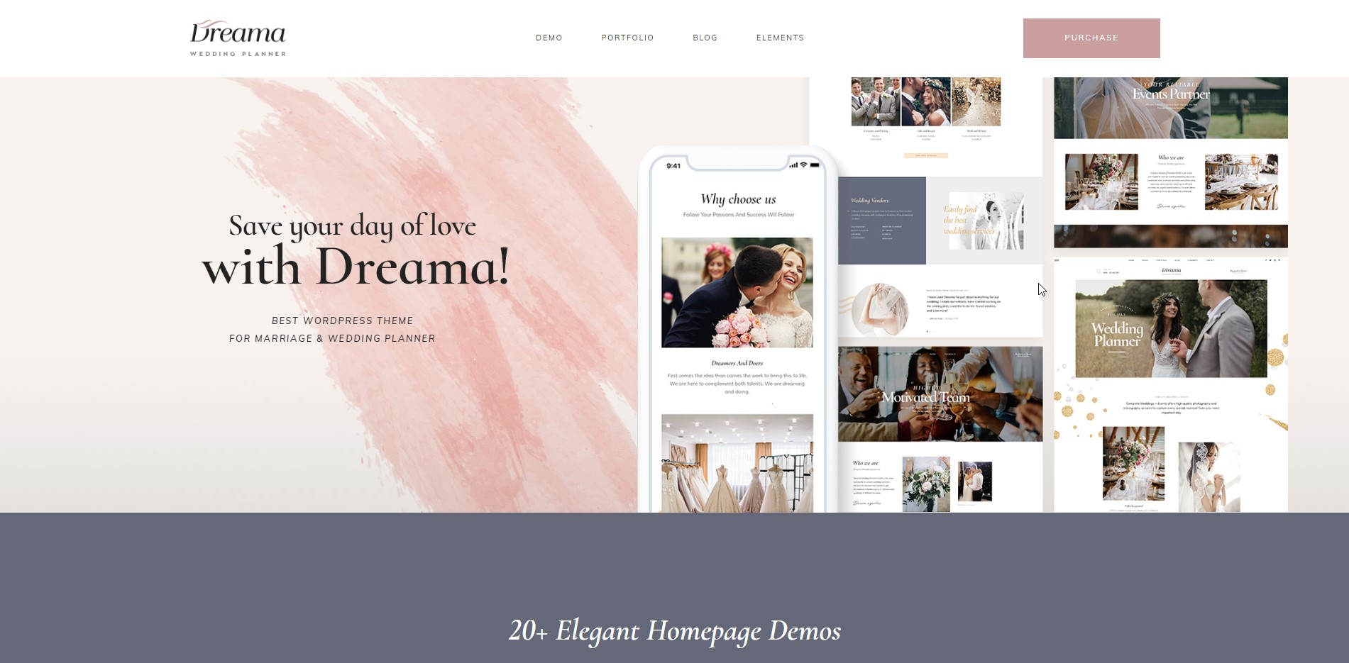 Dreama-Wedding-WooCommerce-WordPress-Theme