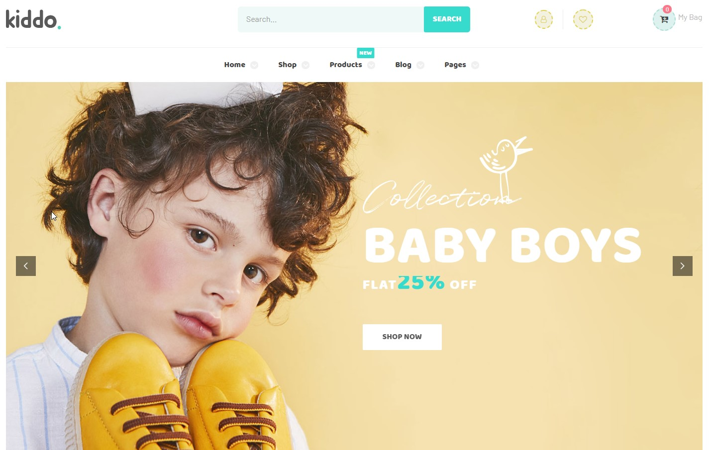 Kiddo - Multipurpose Kid Stores WordPress Theme