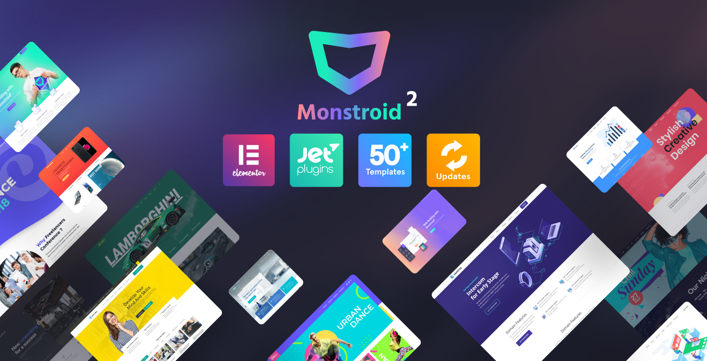 Monstroid2 - Multipurpose WP theme