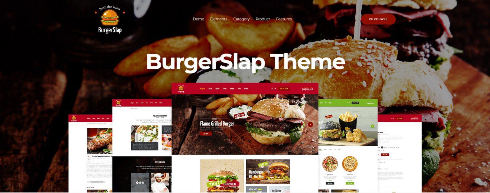 BurgerSlap-Food-WordPress-Theme
