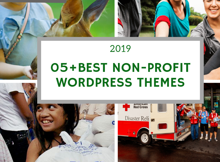 Best Non-Profit WordPress Themes for Charity & Crowdfunding 2019