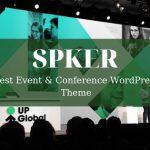 Spker - Best Event & Conference WordPress Theme