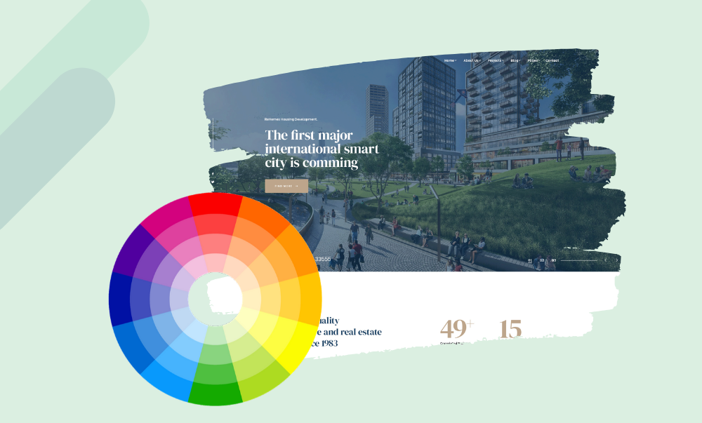 Change appearance of your real estate site with Unlimited color options