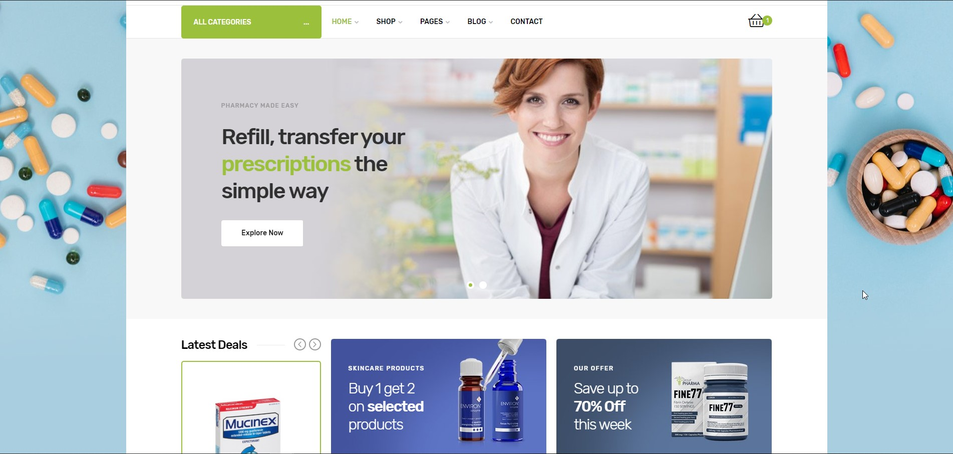 Medicor - Medical WordPress Theme