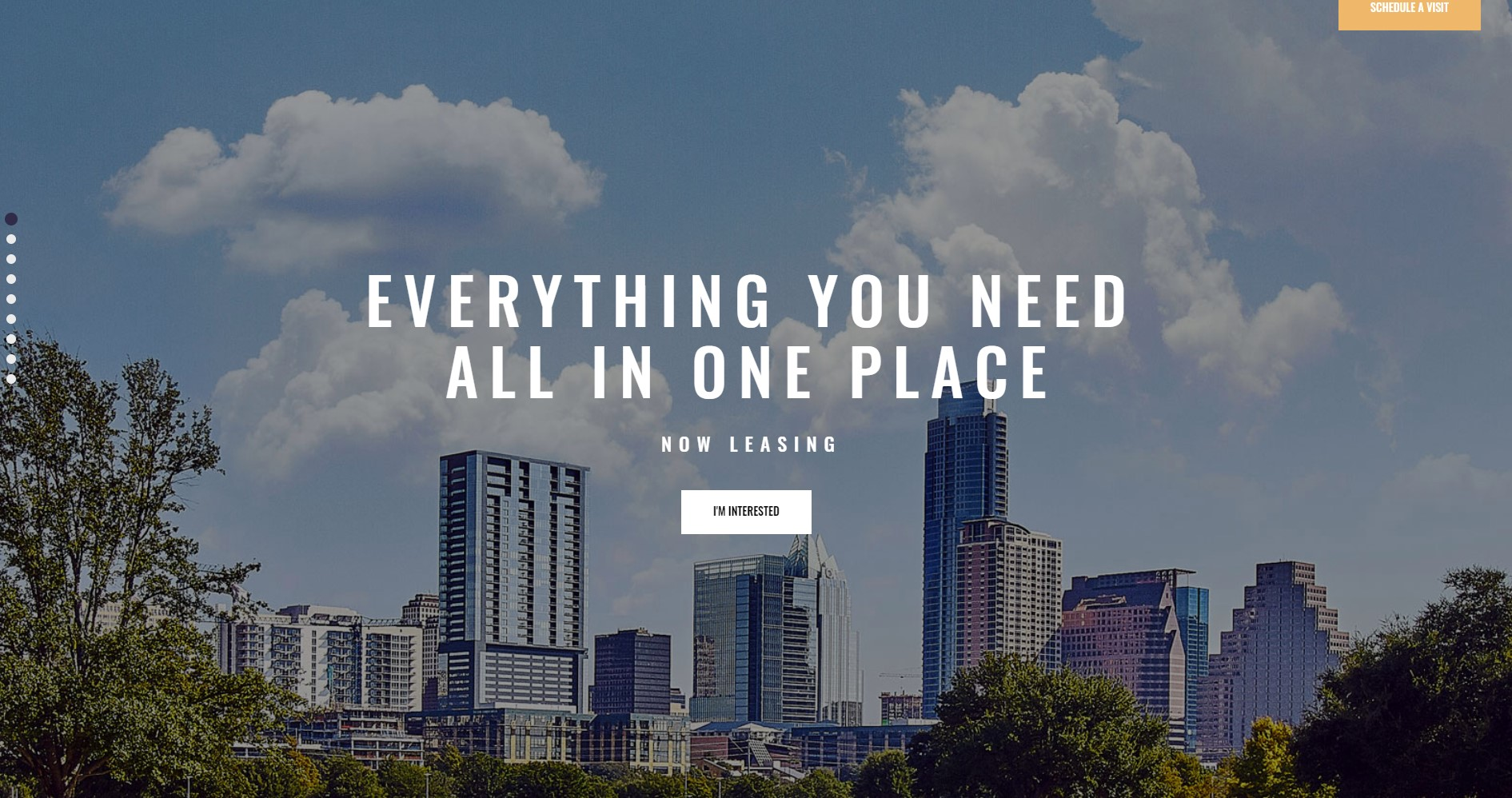 Skyview Complex - One Page Single Property WordPress Theme - Best Real Estate WordPress Themes