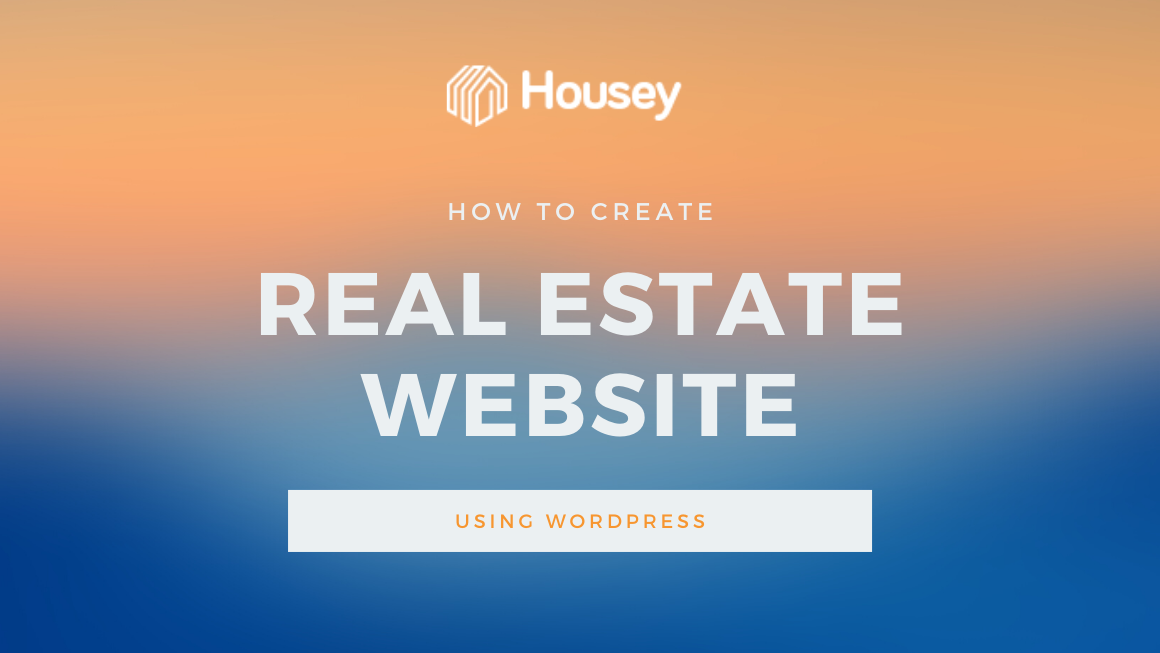 create real estate website wordpress