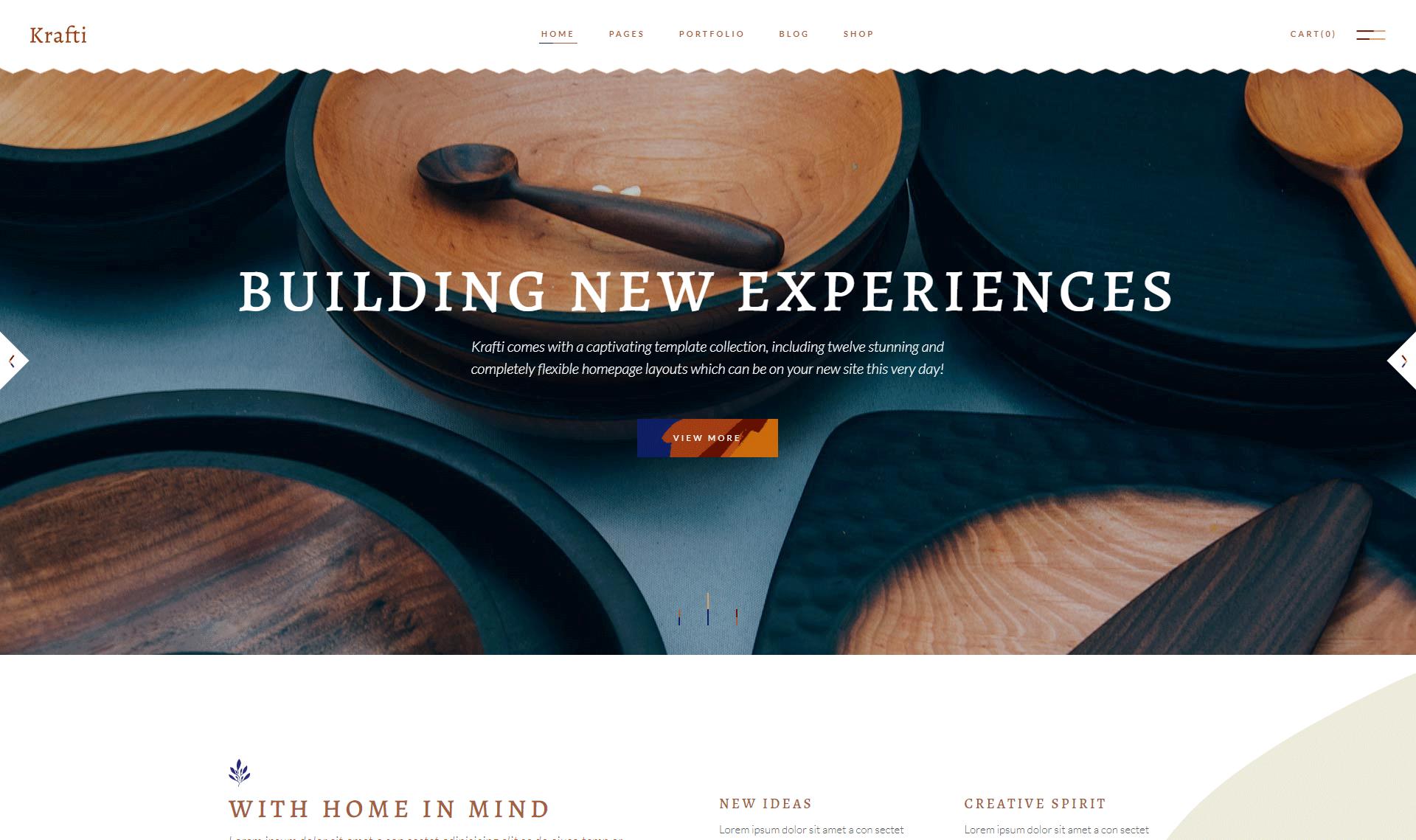 Krafti - Arts & Crafts WordPress Theme