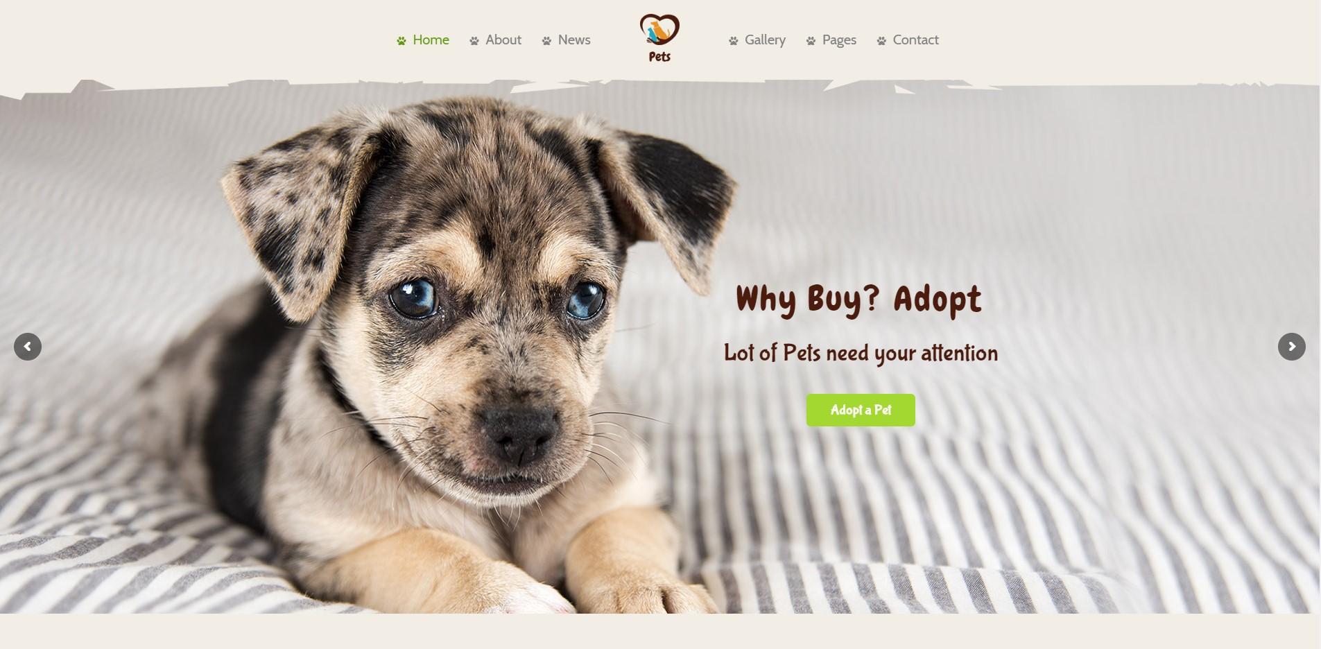 Pet World -  Pet Shop WordPress Theme