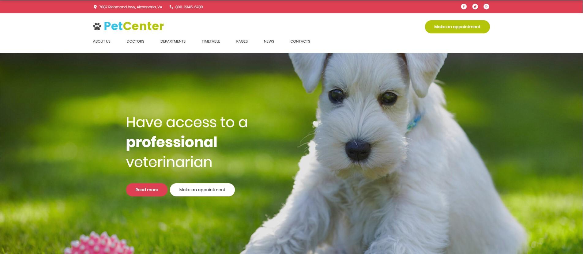 PetCenter - Animals & Pets WordPress Theme