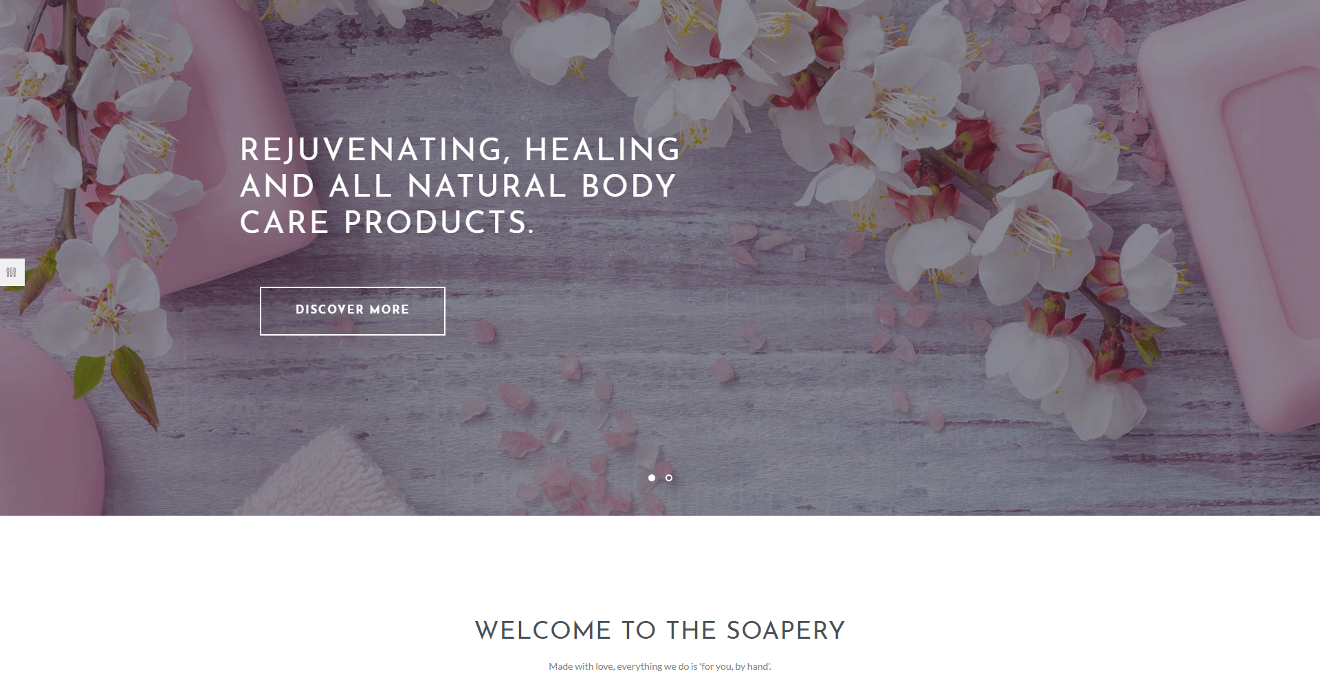 Soapery - Handmade Soap & Handcrafted Products Shop WordPress Theme