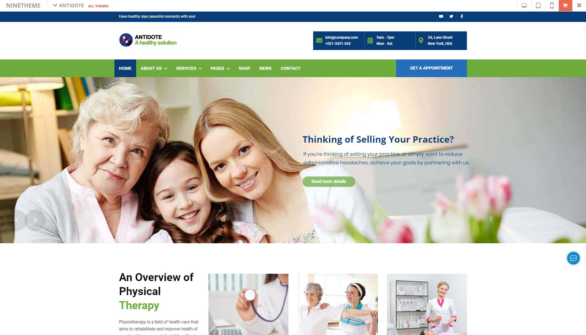 Antidote - Health & Medical Theme