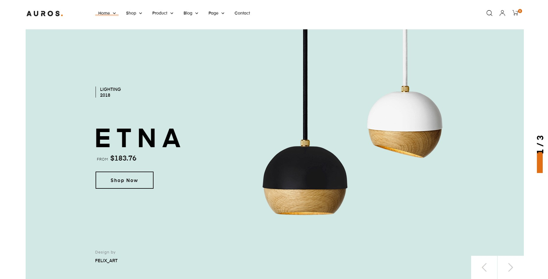 Auros - Furniture WordPress Theme