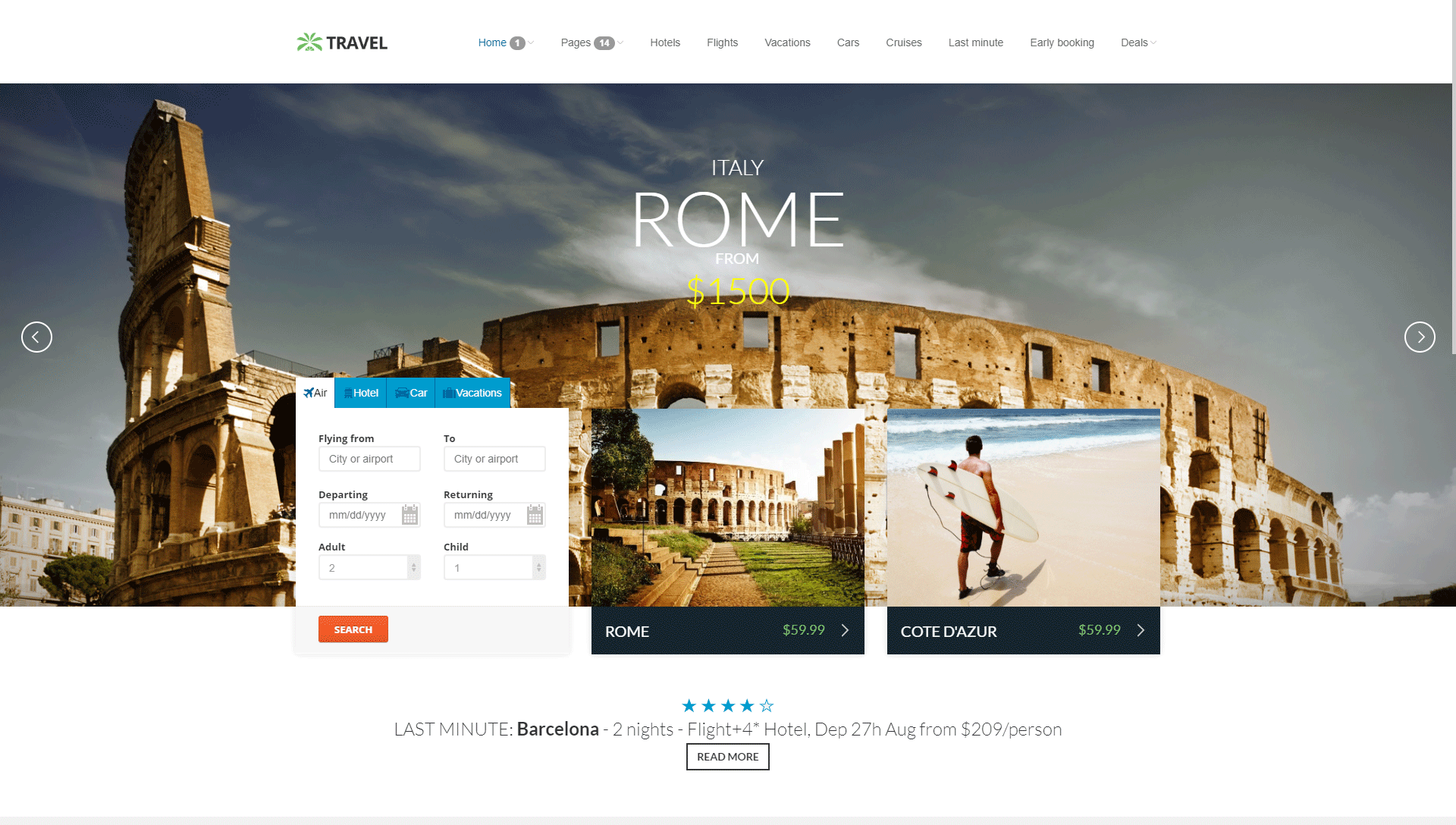 Travel Agency - Online Hotel Booking