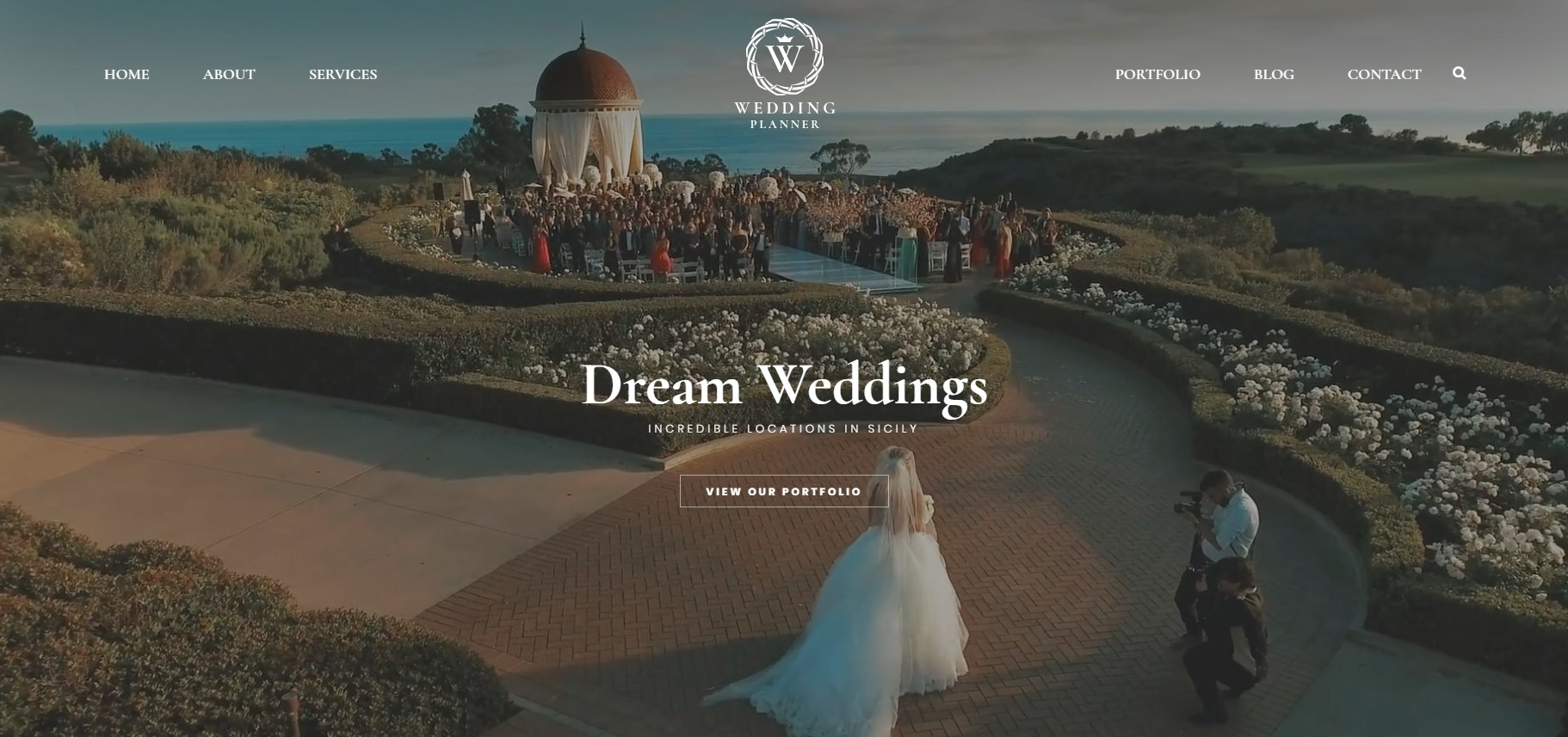 Wedding Planner Theme