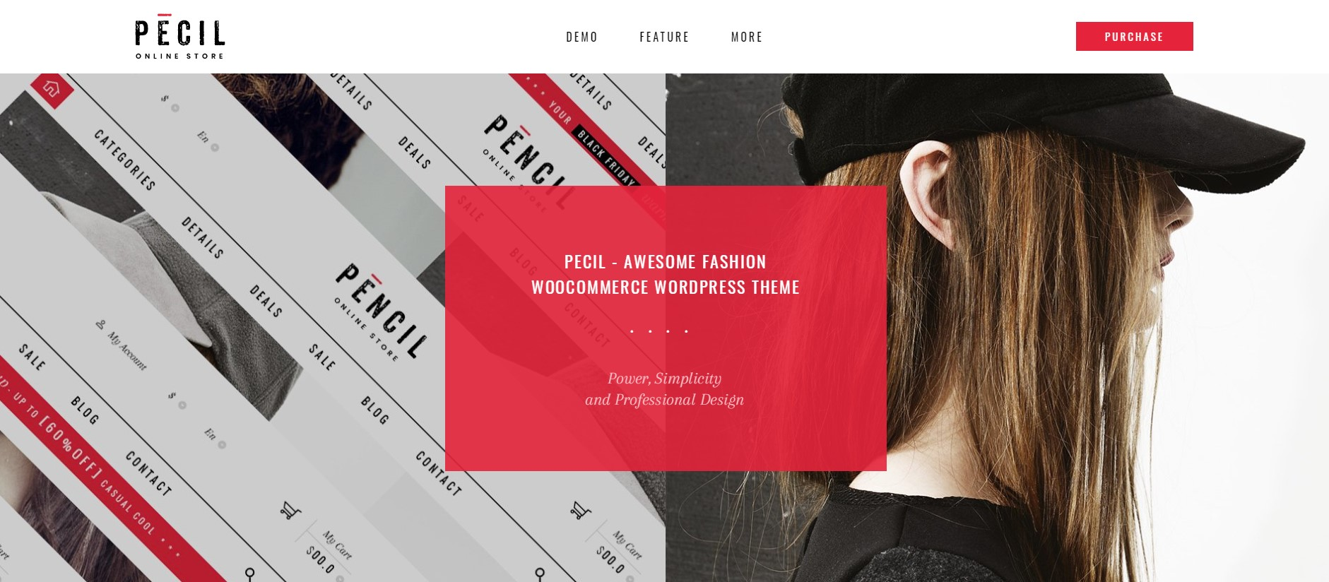 Pecil - Fashion WordPress Theme