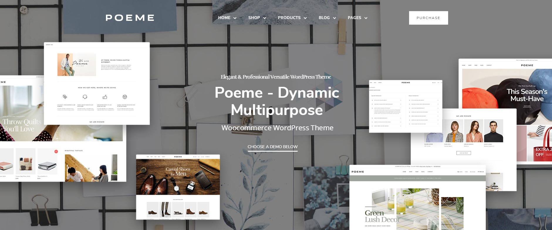 Poeme - Multipurpose WordPress Theme