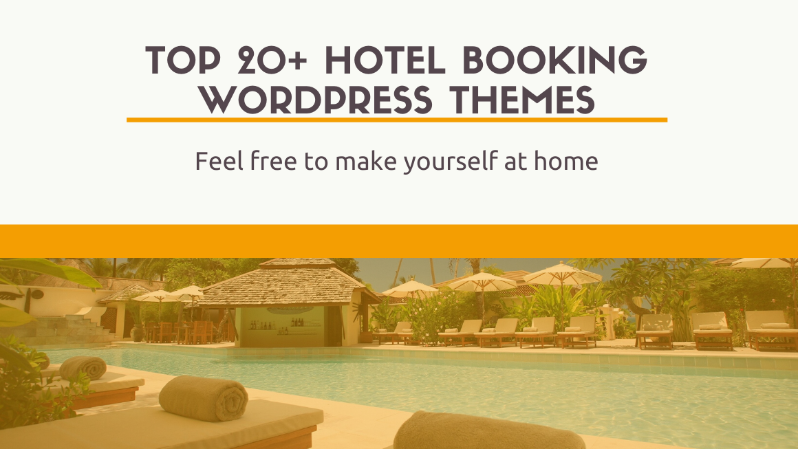 Top 20+ hotel booking wordpress themes